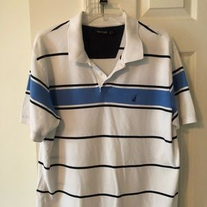 Nautica Striped Short Sleeve Shirt
